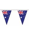 Polyester slinger met Australie vlaggetjes